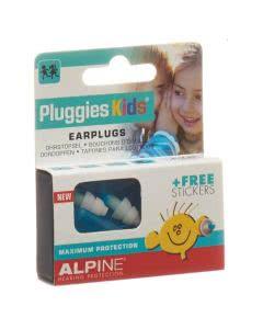 Alpine Pluggies Kids Ohrstöpsel blau