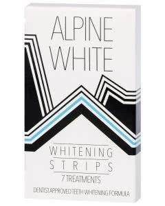 Alpine White Zahnaufhellungsstrips - 7 Anwendungen