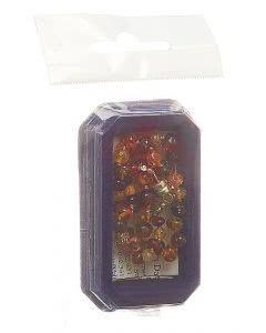 Amberstyle Bernstein 36cm multicolor glanz Magnet - 1 Stk.