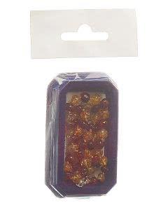 Amberstyle Bernstein 36cm cognac citrin Karabiner - 1 Stk.