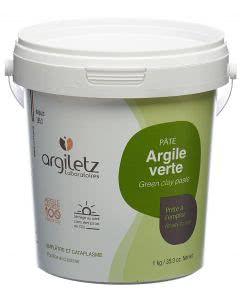 Argiletz Heilerde grüne instant Paste - 1kg