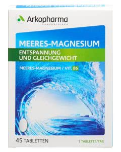 Arkopharma Meeres-Magnesium - 45 Tabletten