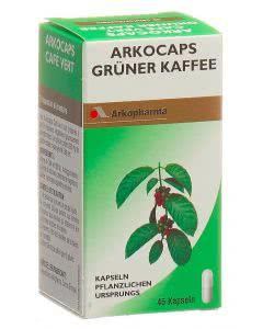 Arkocaps grüner Kaffee VG - 45 Kaps.