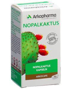 Arkocaps Nopalkaktus 400mg Duo - 2x 45 Kaps.