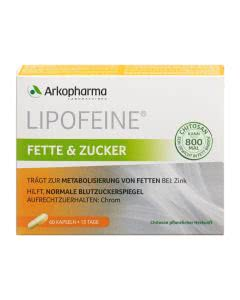 Arkopharma Lipofeine Fette und Zucker - 60 Kaps