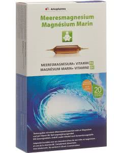 Arkopharma Meeresmagnesium Trinkampullen - 20 Stk.