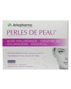 Arkopharma Perles de Peau - Hyaluronsäure und Coenzym Q10