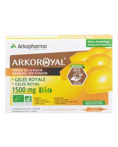 Arkopharma Gelee Royale 1000mg - 20 Ampullen