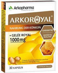 Arkopharma Royal Gelée Royale Kapseln 1000 mg - 30 Stk.