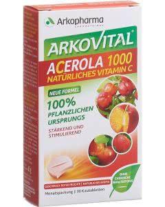Arkovital Acerola Tabletten 1000 mg - 30 Stk.