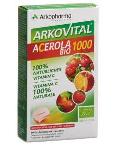 Arkovital Acerola Tabletten 1000 mg Bio - 30 Stk.