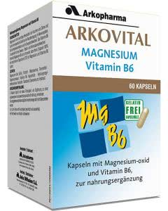 Arkovital Magnesium Vitamin B6 Kapseln - 60 Stk.