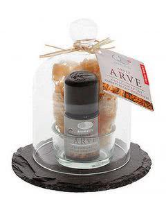 Aromalife Arve Glasglocke Set mit ätherischem Öl - 6 Stk.