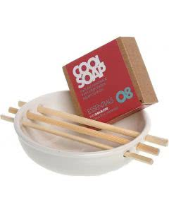Aromalife Cool Soap Seifenschale Keramik weiss - 1 Stk.