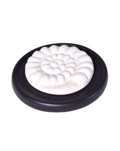 Aromalife Duftstein Set Spirale & Unterteller schwarz - 1 Stk.