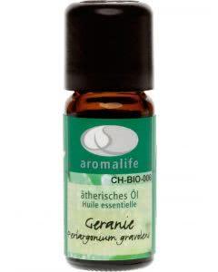 Aromalife Geranie (Rosengeranie) Bio Ätherisches Öl - 10ml
