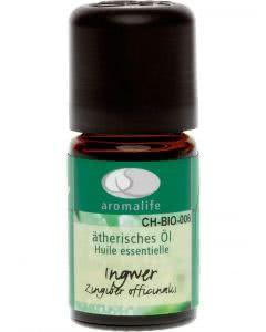 Aromalife Ingwer Bio Ätherisches Öl - 5 ml