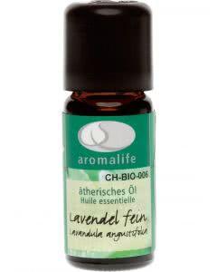 Aromalife Lavendel fein Frankreich Bio Ätherisches Öl - 10 ml