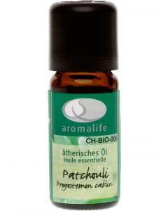 Aromalife Patchouli Ätherisches Öl - 10 ml