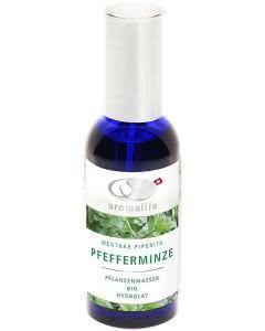 Aromalife Pflanzenwasser Bio Pfefferminze Spray - 100 ml