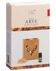 Aromalife Geschenkset Arve Quader Set Hirsch - 1 Stk.