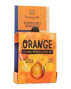 Sonnentor Gewürzöl Orange - 4.5 ml