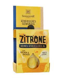 Sonnentor Gewürzöl Zitrone - 4.5 ml