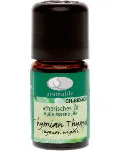 Aromalife Thymian Thymol Bio Ätherisches Öl - 5 ml