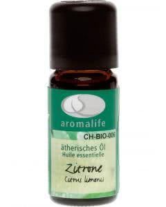 Aromalife Zitrone Bio Ätherisches Öl - 10 ml