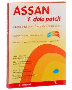 Assan Dolo Patch Schmerzpflaster - 5 Stk.