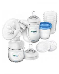 Avent Philips Still-Set mit Handmilchpumpe Comfort - 1 Set