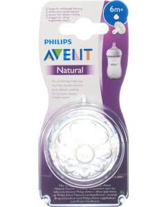 Avent Philips Naturnah Sauger 6M+ 2 Stk.