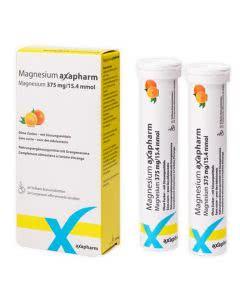 Axapharm Magnesium 375mg Brausetabletten Orangenaroma