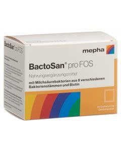 BactoSan pro FOS - 20 x 3g Pulver