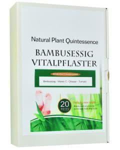 drogi BambusEssig Vital-Pflaster - 20 Stk./10Paar