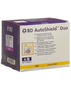 BD Autoshield Duo Sicherheit-Pen-Nadel 5mm - 100 Stk.