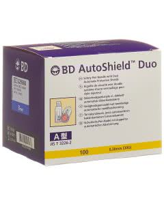 BD Autoshield Duo Sicherheit-Pen-Nadel 8mm - 100 Stk.