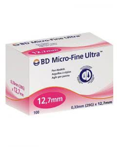 BD Microfine+ Ultra Pen Nadel 0.33 x 12.7mm - 100 Stk.