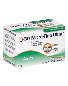 BD Microfine+ Ultra Pen Nadel 0.23 x 4 mm - 100 Stk.