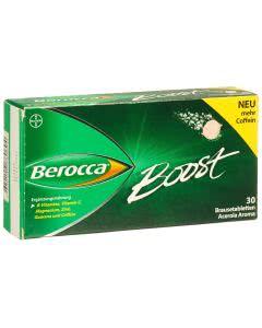 Berocca Boost Vitamine und Guarana - 30 Brausetabletten