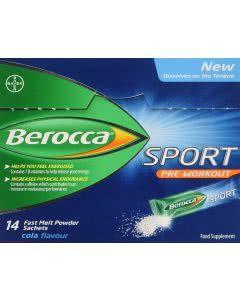 Berocca Sport pre workout - Sticks - 14 Stk.