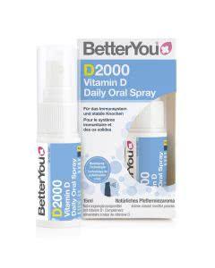 BetterYou D2000 Vitamin D Daily Oral Spray - 15ml