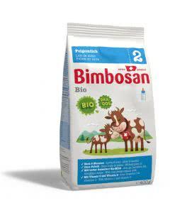 Bimbosan BIO Folgemilch ab 6 Monaten o. Palmöl Nachfüllung - 400g