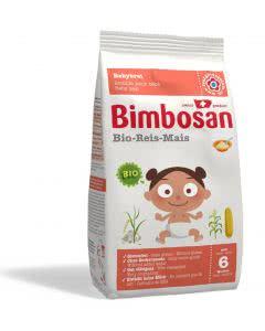 Bimbosan Bio-Reis-Mais Nachfüllpackung - 400g