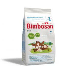 Bimbosan BIO Säuglingsmilch ab 1. Tag - Nachfüllpack - 400g