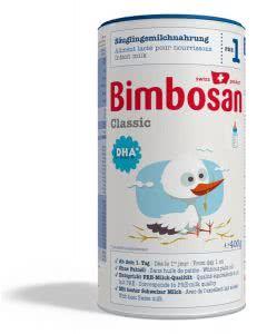 Bimbosan Classic 1 Säuglingsmilch ab Geburt - Dose - 400g