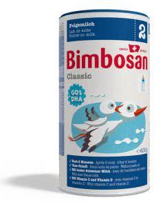 Bimbosan Classic 2 Folgemilch ohne Palmoel ab 6 Mt. - Dose - 400g