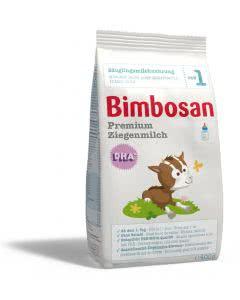 Bimbosan Premium Ziegenmilch 1 - Nachfüllbeutel 400 g