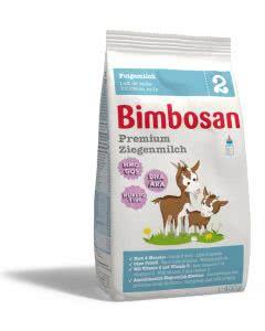 Bimbosan Premium Ziegenmilch 2 - Nachfüllbeutel 400 g