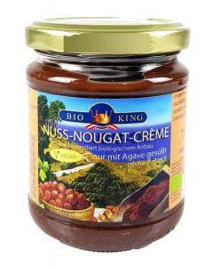 BioKing Nuss-Nougat-Crème Bio im Glas - 200 g